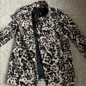🧥NWOT Ann Taylor leopard print coat